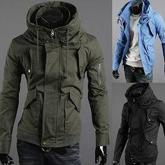 Fashion Men Zip Slim Fit Jacket | Sneak Outfitters