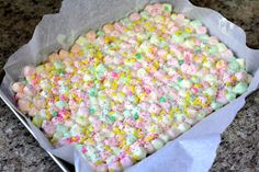 Easter Marshmallow Bark: Butter with a Side of Bread