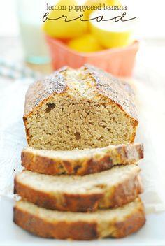 Lemon Poppyseed Banana Bread   www.somethingswanky.com