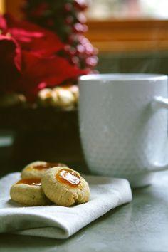 Gluten-free Jam Thumbprint Cookies