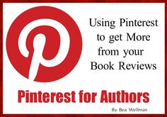 Pinterest and Book Reviews Generating Income for Indie Authors -Blog Post Pinterest can be a very useful and important tool for Indie Authors if you learn to use it. There is a real opportunity to connect to people all over the world and this can mean increased readership for you or an Indie Author you represent.  Using book reviews to ... read more