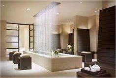 waterfall shower!
