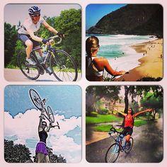#atitudeboaforma: Top 4 bike... Para quem ama pedalar! ❤ @adrimorrone, @Alice Young-Drew, @fabiolasenergy e @fortufortu #boaforma #bike #exercicios