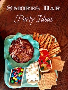 Have a S'mores Bar Party