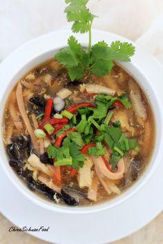 Soup | China Sichuan Food stew, soups, creativ edibl, sour soup, hot ...