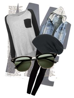 """""""Laidback, school outfit"""" by mariwike ❤ liked on Polyvore"""
