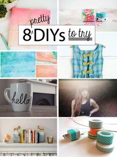 Poppytalk: 8 Pretty DIYs to Try