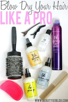 Wondering how to get a salon quality blow dry at home? This post explains it all! #hair #beauty #bbloggers