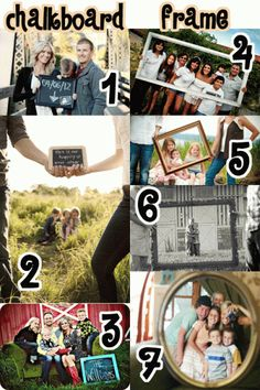 Love these family picture ideas...