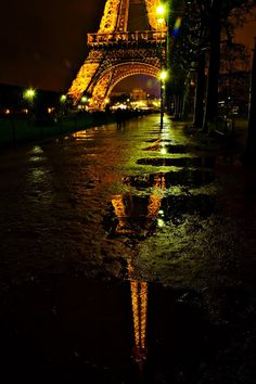 Rainy night in Paris