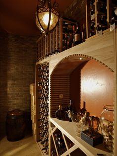 Custom Wine Cellar design for a San Diego home