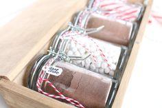 hot chocolate gift set idea!
