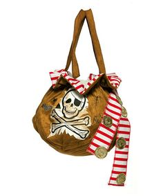 Take a look at this Tan Pirate Bag by Rasta Imposta on #zulily today!