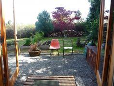 minihouse dream backyard, detached garage, converted garage, raised gardens, living spaces, mini houses, patio, fruit trees, raised garden beds