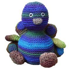 peacock Stuffed Animal Crochet Pattern $4