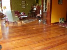 How to Refinish Floors. - This could come in handy when we pull up our carpet.