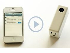 Elphi: The Smart Plug for iPhone and Android by Cameron Colpitts, via Kickstarter.