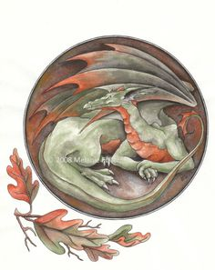 Dragon Fantasy Art Print by DragonStarCreations1