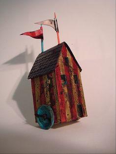 Creepy circus house by Mandy Jordan