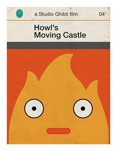 """Studio Ghibli Old Penguin Books """"Howl's Moving Castle"""""""