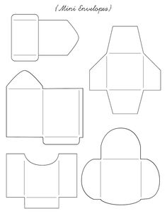 Printable - Envelope Templates on Pinterest | 473 Pins