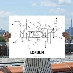 London Lithograph B