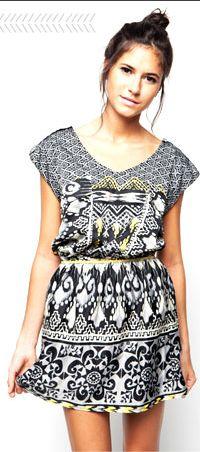 easy sew dress.