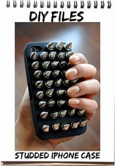 DIY iphone case.