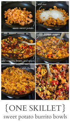 30-minute sweet potato burrito bowl. Best dinner ever!! Vegetarian ...