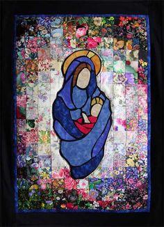 """Madonna"" Watercolor Quilt Kit"