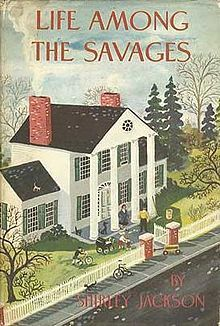 Humorous vignettes of family life! funny books, famili life, star, savag, family life, read, book clubs, shirley jackson, book reviews