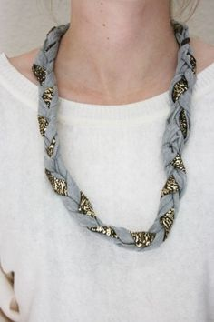 Diy Collar Tela