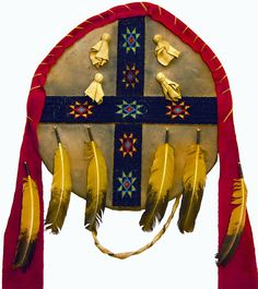 American Indian War Shield w. Four Directions Symbol