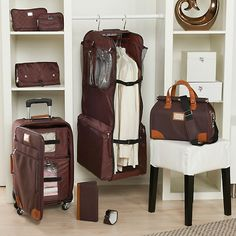 Joy Mangano Paris Collection 8-piece Trim Luggage Set