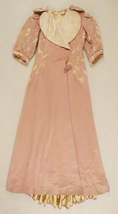 Evening Coat, House of Worth 1902, French