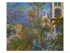 Villas in Bordighera, Italy   Claude Monet