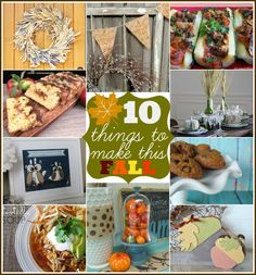 Fall Inspiration Features {10 Things to Make This Fall}