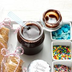 Delicious Chocolate Sauce Recipe from Taste of Home. Submitted by Dorothy Anderson of Ottawa, Kansas. -- Pair this sauce with waffle cones & colorful toppings for a complete gift package.