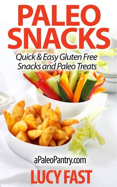FREE TODAY!!  Paleo Snacks: Quick & Easy Gluten Free Snacks and Paleo Treats (Paleo Diet Solution Series) [Kindle Edition] #AddictedtoKindle