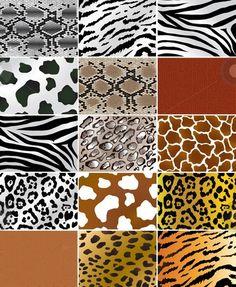 patronen - huid van dieren