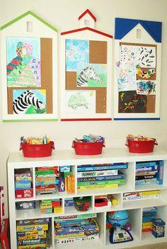 Cute room for homeschool!