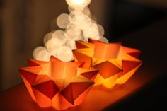 Waldorf Christmas Craft:  How to Make Waldorf Star Lanterns