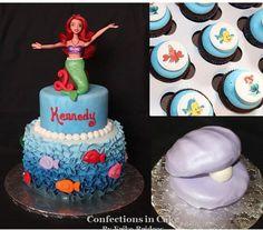 Ariel's Princess Cake