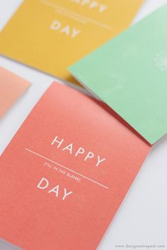 Happy Anything Card - Free Printable that can be used for Birthdays, Mothers Day, and more!