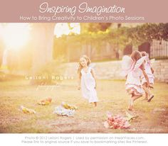 """""""Imagination Sessions"""" for Children's Photography {via iHeartFaces.com}"""