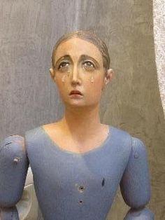 Coleccion particular de Cap y Pota, Virgenes de Vestir, de Rosa Binefa