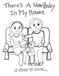 A Home Birth Coloring Book!