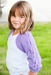 Ravelry: La Isla Bonita pattern by Elena Nodel #knitting #shrug #girls