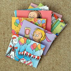 Recycled book envelopes! A great way to use books that get ripped or that are falling apart...