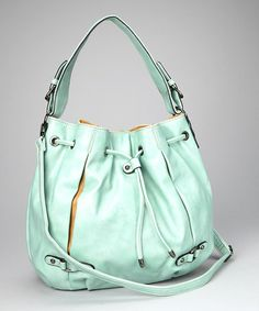 Apple Green Hobo Bag by David Jones on #zulily